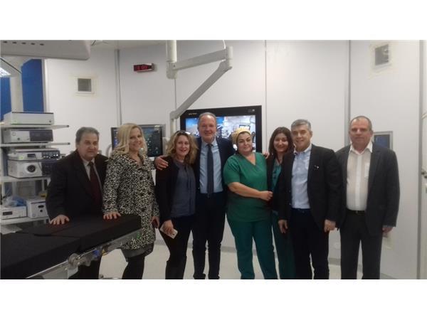 Στη νέα Ψηφιακή Χειρουργική Αίθουσα του Νοσοκομείου Βόλου βρέθηκε ο Περιφερειάρχης Θεσσαλίας Κώστας Αγοραστός