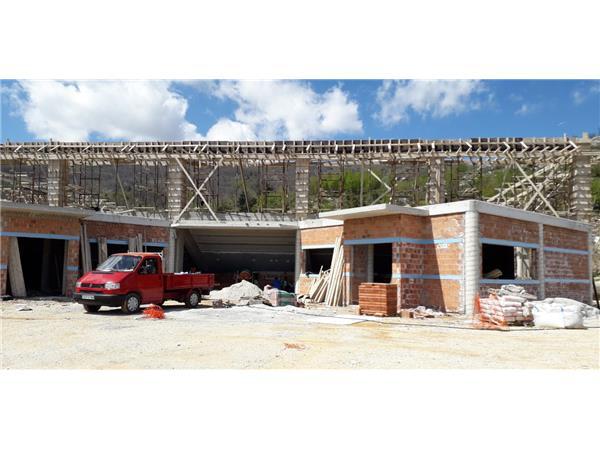 Με εντατικούς ρυθμούς προχωρούν οι εργασίες κατασκευής του κλειστού γυμναστηρίου Ζαγοράς από την Περιφέρεια Θεσσαλίας