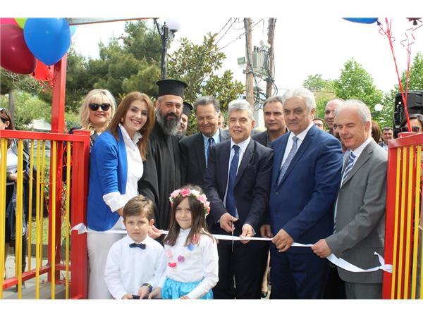 Εγκαινίασε το Κέντρο Κοινότητας και τον Παιδικό Σταθμό Γόννων ο Περιφερειάρχης Θεσσαλίας Κώστας Αγοραστός