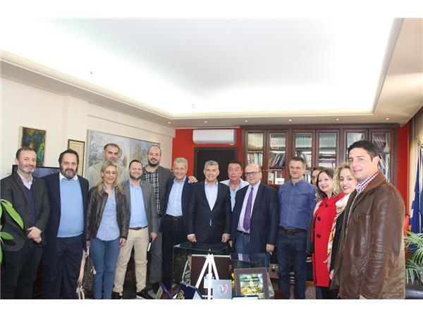Συνάντηση του Περιφερειάρχη Θεσσαλίας με τον υποψήφιο Δήμαρχο Λάρισας Παναγιώτη Γούλα