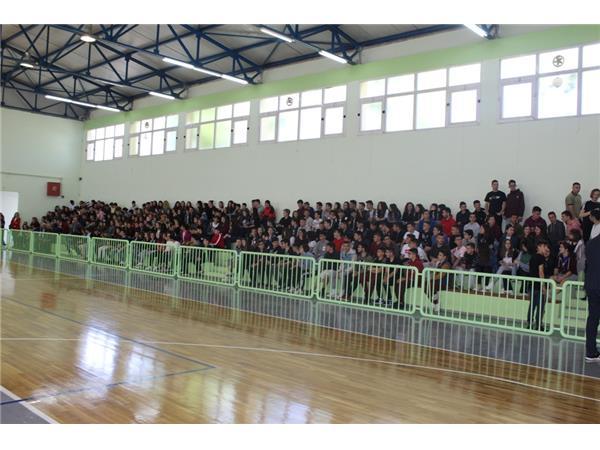 Παρέδωσε προς χρήση τα Κλειστά Γυμναστήρια Χάλκης και Πλατυκάμπου η Περιφέρεια Θεσσαλίας