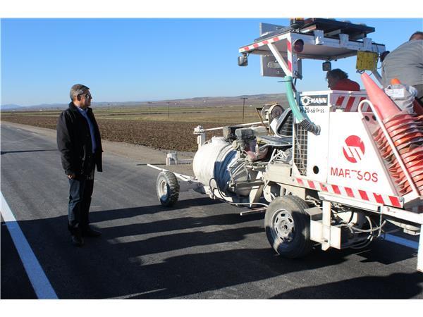 Στη βελτίωση της οδού από τη Βερδικούσια μέχρι τα όρια του Ν. Τρικάλων προχωρά η Περιφέρεια Θεσσαλίας