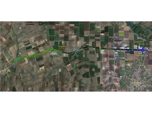 Δημοπρατείται η κατασκευή του οδικού τμήματος Τερψιθέας – Ραχούλας από την Περιφέρεια Θεσσαλίας