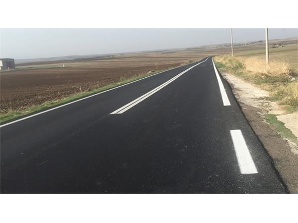 Ολοκληρώθηκαν από την Περιφέρεια Θεσσαλίας οι εργασίες διαγράμμισης στην παλαιά εθνική οδό Βόλου-Φαρσάλων