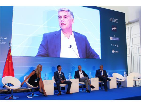 Ο Περιφερειάρχης Θεσσαλίας Κ. Αγοραστός στο διεθνές συνέδριο τεχνητής νοημοσύνης «One Belt, One Road: Chinese AI landing in Greece»