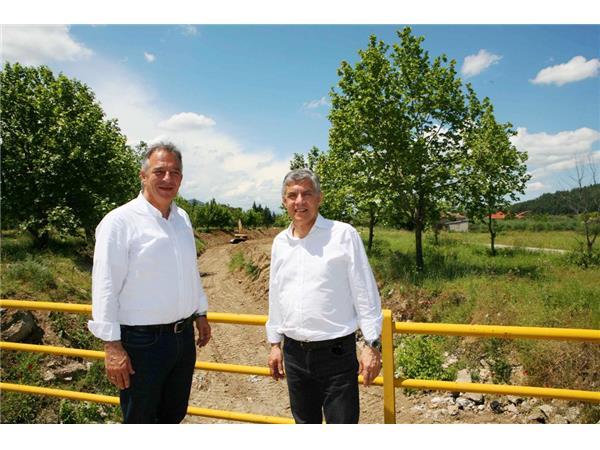 Αποκαθιστά τις γέφυρες Καραβόπορος, Σαρακίνας και Κεραμιδίου η Περιφέρεια Θεσσαλίας