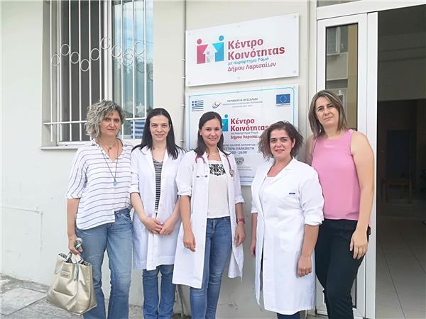 Εμβολιάστηκαν παιδιά Ρομά στη Νέα Σμύρνη