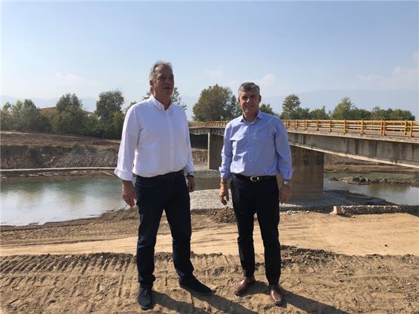 Συντηρεί και επισκευάζει μεταλλικές γέφυρες τύπου Belley στην Π.Ε. Τρικάλων η Περιφέρεια Θεσσαλίας