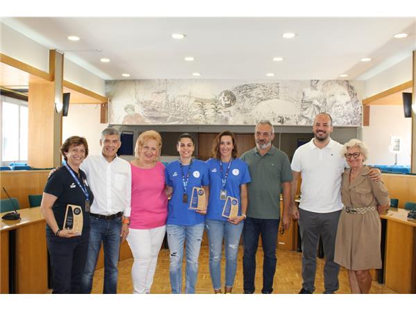 Τις Παγκόσμιες Πρωταθλήτριες της Εθνικής Ομάδας Μπάσκετ Κωφών Γυναικών βράβευσε ο Περιφερειάρχης Θεσσαλίας