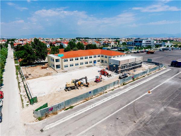 Με ταχείς ρυθμούς προχωρούν οι εργασίες κατασκευής του νέου κτιρίου του Ειδικού Σχολείου Λάρισας