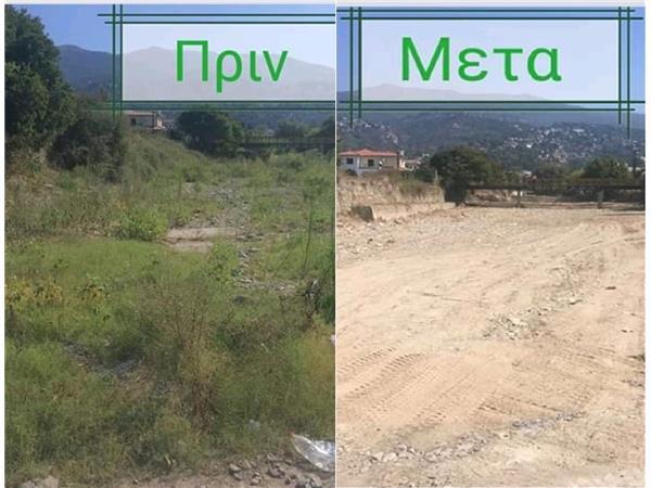 Καθαρισμός υδατορεμάτων στη Μαγνησία από την Περιφέρεια Θεσσαλίας
