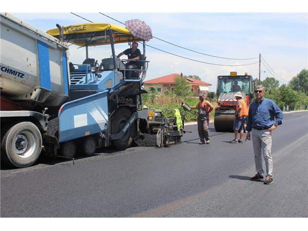 Στη συντήρηση και διαγράμμιση του οδικού δικτύου της Π.Ε. Καρδίτσας προχωρά η Περιφέρεια Θεσσαλίας
