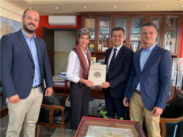 Την Περιφέρεια Θεσσαλίας επισκέφθηκε η Πρέσβης της Μ. Βρετανίας
