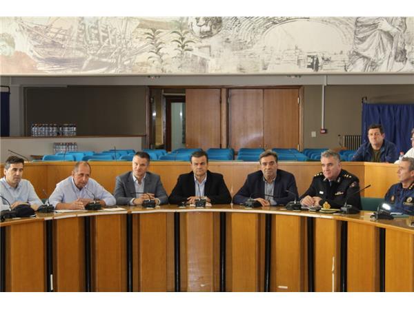 Σύσκεψη Συντονιστικού Οργάνου Πολιτικής Προστασίας Π.Ε. Λάρισας ενόψει του χειμώνα