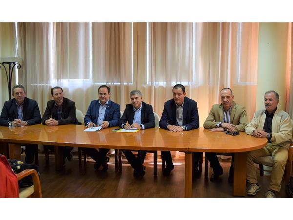 Δήλωση Περιφερειάρχη Θεσσαλίας Κώστα Αγοραστού για την υπογραφή σύμβασης του έργου της επέκτασης του Θεοδωρίδειου Κέντρου Ορίζοντες στην Καρδίτσα