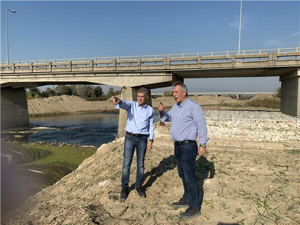 Σε αντιπλημμυρικά έργα και στη συντήρηση των γεφυρών Σαρακίνας και Κεραμιδίου προχωρά η Περιφέρεια Θεσσαλίας