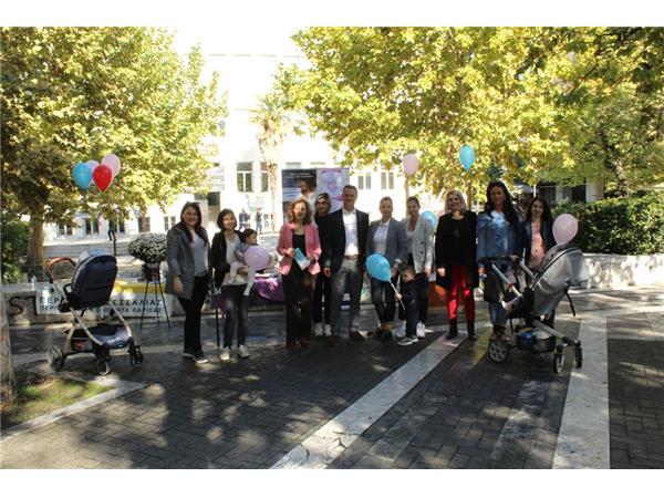 Σεμινάρια από την Περιφέρεια Θεσσαλίας και ενημερωτικές δράσεις στην Πλατεία Ταχυδρομείου για το Μητρικό Θηλασμό