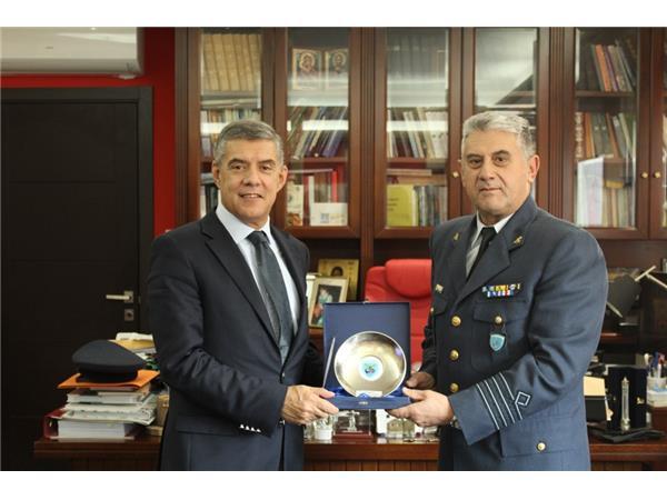 Συνάντηση Περιφερειάρχη Θεσσαλίας Κώστα Αγοραστού με Διοικητής της Διοίκησης Αγωγού Καυσίμων (ΔΑΚ)