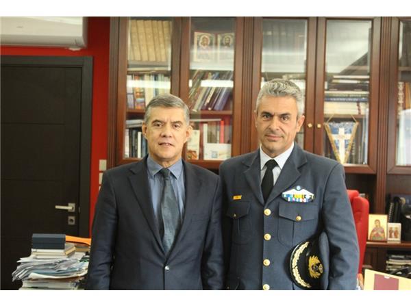 Συνάντηση Περιφερειάρχη Θεσσαλίας Κώστα Αγοραστού με Διοικητής της Μοίρας του Αρχηγείου Τακτικής Αεροπορίας
