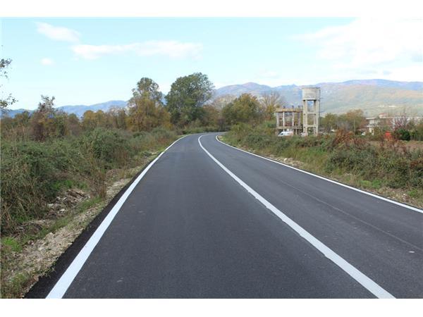 Ολοκληρώθηκαν από την Περιφέρεια Θεσσαλίας οι εργασίες συντήρησης του δρόμου Παλαιόπυργος – Κουλούρα – Μεσάγγαλα – Αιγάνη