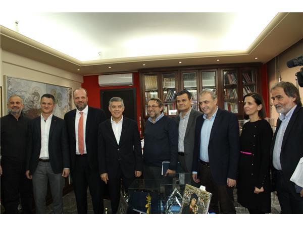 Συνάντηση Αγοραστού με τον Διοικητή του ΟΑΕΔ - 14 προγράμματα στη Θεσσαλία