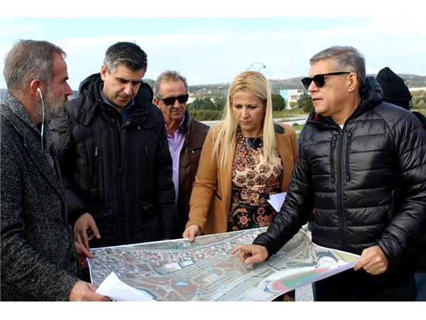 Αυτοψία και τεχνική σύσκεψη για την κατασκευή του νέου ποδηλατοδρομίου στο Βόλο από τον Περιφερειάρχη Θεσσαλίας