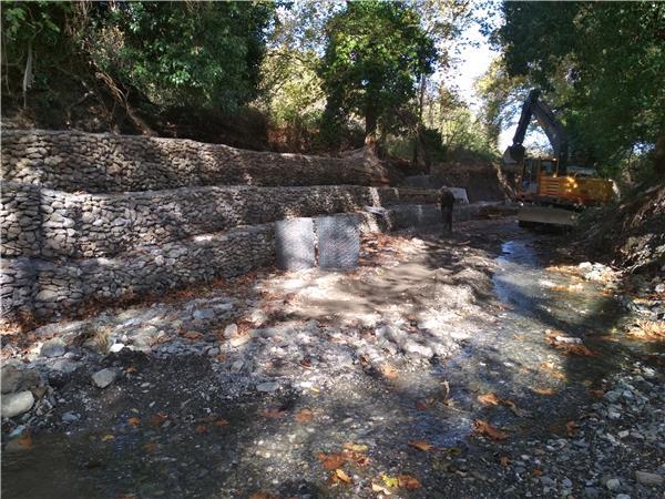 Ολοκληρώθηκαν από την Περιφέρεια Θεσσαλίας οι εργασίες καθαρισμού 8 ρεμάτων στα παράλια του Δήμου Αγιάς