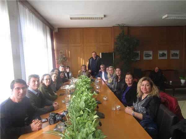 Στην ΠΕ Τρικάλων βρέθηκαν την Παρασκευή εκπαιδευτικοί και σπουδαστές από την Τουρκία