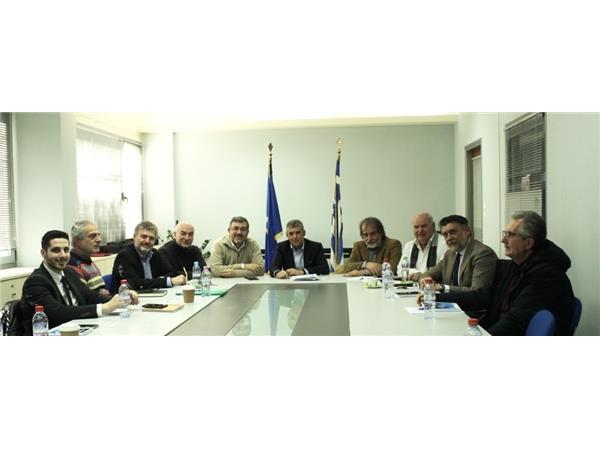 Σύσκεψη στην Περιφέρεια Θεσσαλίας παρουσία του Γ.Γ. διαχείρισης αποβλήτων Μ. Γραφάκου