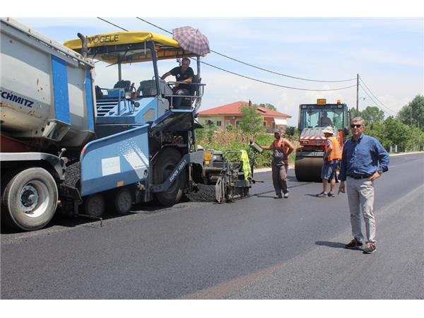 Ξεκινά από την Περιφέρεια Θεσσαλίας το έργο της συντήρησης του οδικού δικτύου της Π.Ε. Καρδίτσας ύψους 900.000 ευρώ