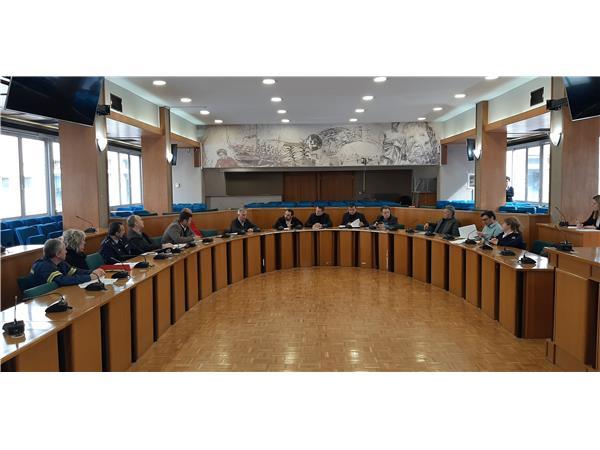 Ευρεία σύσκεψη για τον κοροναϊό Covid 19 στην Περιφέρεια Θεσσαλίας με συμμετοχή όλων των αρμόδιων φορέων Υγείας