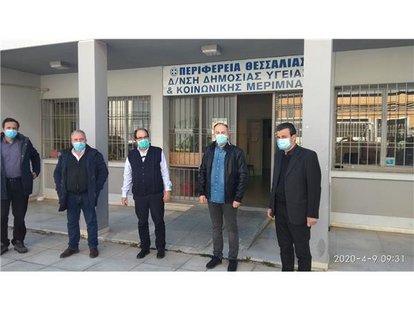 Κλιμάκιο γιατρών της Περιφέρειας Θεσσαλίας και του ΕΟΔΥ στη Νέα Σμύρνη
