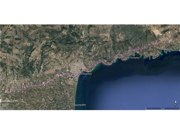 1,2 εκατ. ευρώ από την Περιφέρεια Θεσσαλίας για τη μελέτη του δρόμου Μικροθήβες - Μπουρμπουλήθρα
